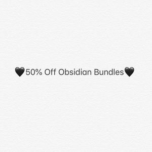 50% off Obsidian bundles